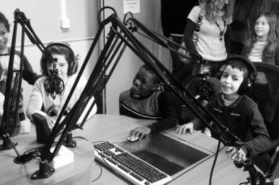 Visite de la radio JET FM